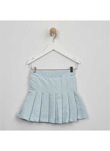 Panço PanÇo 2111GK13006 Pileli Kız Çocuk Etek Mavi
